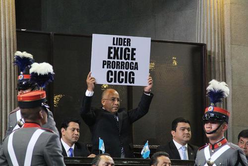 En septiembre de 2014, el Partido LIDER exigía la prórroga de la CICIG, pero cuando este organismo promovió antejuicios en su contra criticaron a Iván Velásquez. (Foto: Archivo/Soy502)