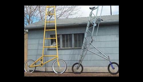 Ingenioso diseño tipo bicicleta. (Foto: Internet)