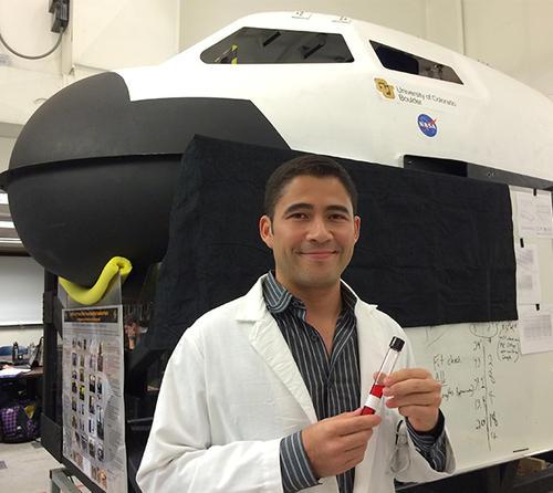 Luis Zea es un destacado innovador que espera contribuir con la ciencia a través de sus proyectos espaciales. (Foto: Luis Zea)