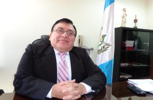 El magistrado Freedyn Fernández, presidente la Sala Primera de la Corte de Apelaciones del ramo penal. (Foto: Archivo/Soy502)