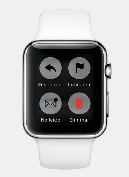 Para responder un correo electrónicos, será posible acceder a una serie de respuestas predeterminadas. (Foto: apple.com)