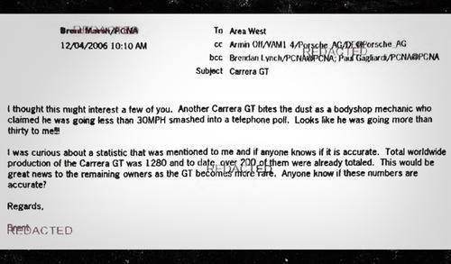 Imagen del correo electrónico presentado por la defensa de la hija del actor fallecido. (Imagen: TMZ)