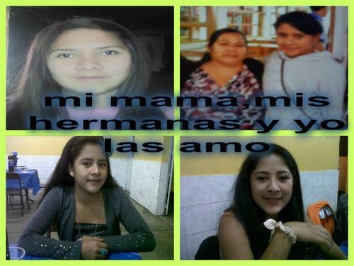 Unidas: la imagen de Karla representa lo que para ella significaba su familia.