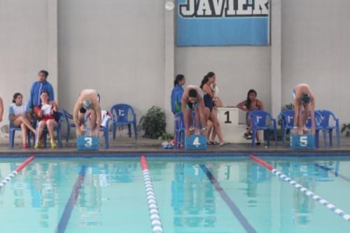 Vista de la piscina del Liceo Javier. (Foto: Página web Liceo Javier)