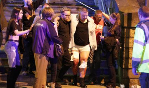 Varios resultaron heridos. (Foto: twitter)