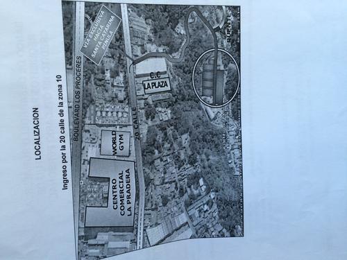 Mapa de ubicación de Residenciales La Pradera, promocionada durante la venta de las viviendas. (Foto: Soy502)