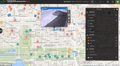 El software Hitachi Visualization Predictive Crime Analytics (PCA) analiza los datos de múltiples fuentes y luego busca patrones de posible comportamiento violento. (Foto: dailymail.co.uk)