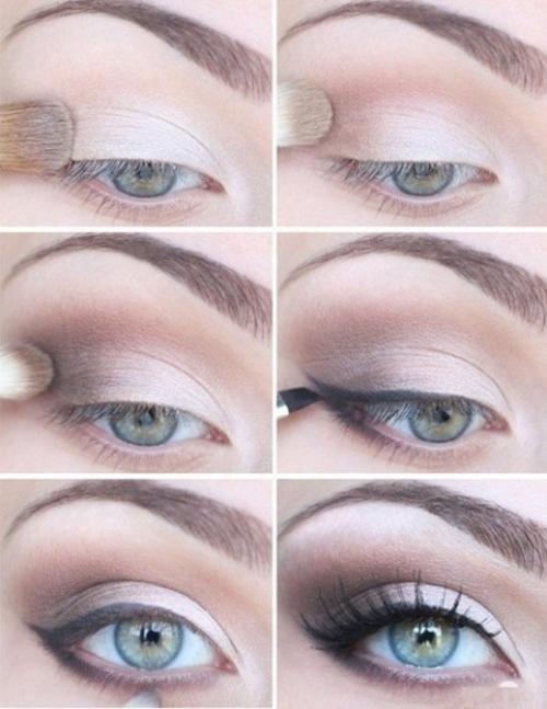 Definición y difuminado de ojos, paso a paso. (Foto: maquillarselosojos.com)