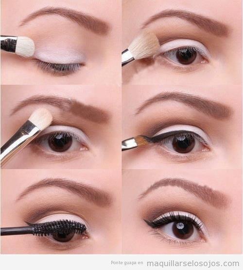 """Las sombras deben difuminarse bien para que tus ojos no se vean """"rayados"""". (Foto: maquillarselosojos.com)"""