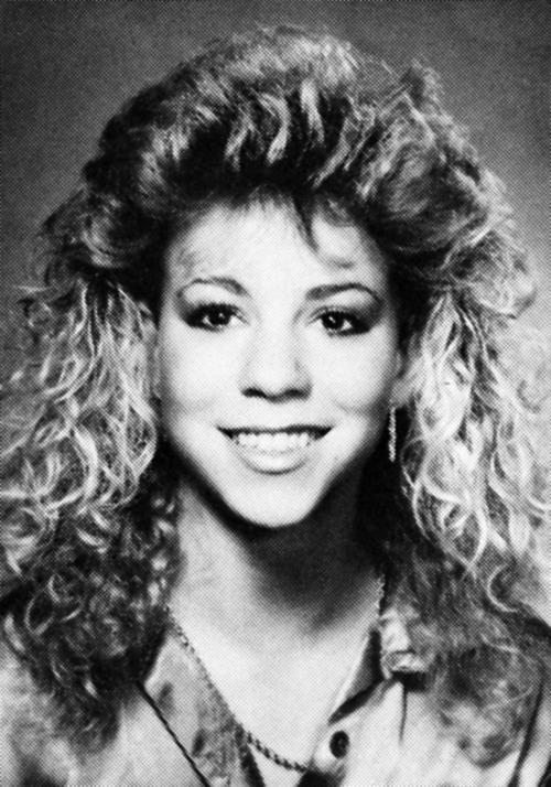12. Mariah Carey y el uso excesivo de fijador para el cabello. (Foto: Buzzfeed.com)