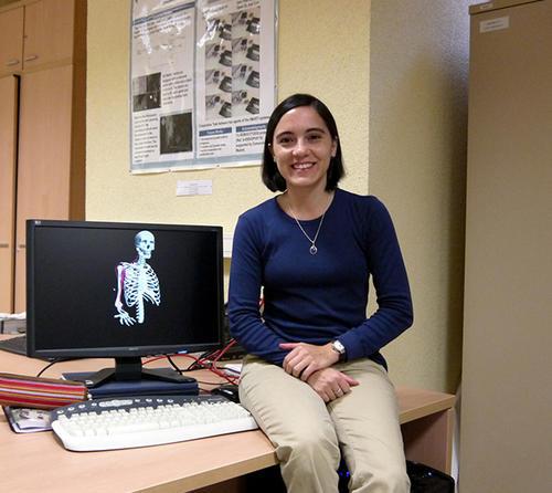 Marie André Destarac ha enfocado sus conocimientos para crear herramientas que ayuden a los médicos para que tengan un mejor diagnóstico de las lesiones musculares. (Foto: Luis Monge)