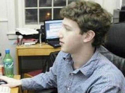 Mark Zuckerberg  en sus tiempo como estudiante universitario. (Foto: businessinsider.com)