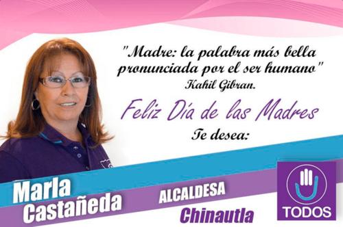 Marla Castañeda fue candidata a alcaldesa de Chinautla en las elecciones de 2015. (Foto: TODOS Chinautla/Facebook)