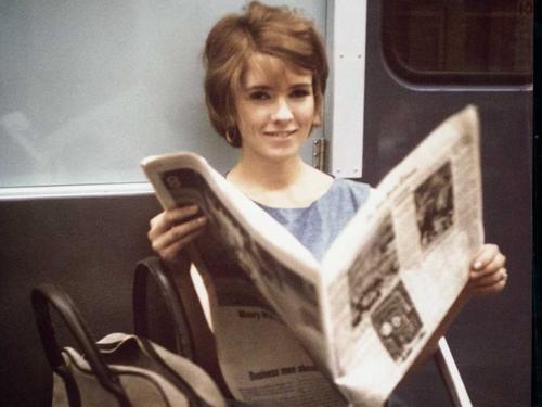 Martha Stewart cuando trabajaba en Wall Street. (Foto: businessinsider.com)