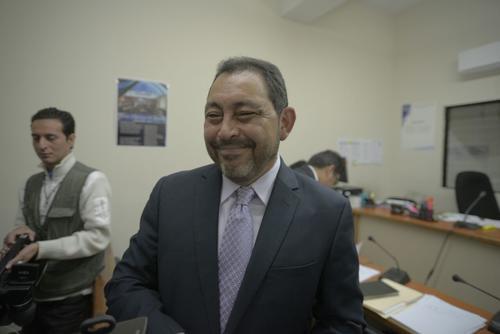 Mauricio López Bonilla  rechazó los señalamientos que lo vinculan al narcotráfico. (Foto: Wilder López/Soy502)