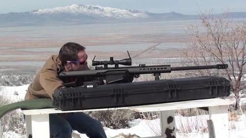 Este es un rifle de Francotirador Barrett calibre .50. (Foto: ammunitiontogo.com)