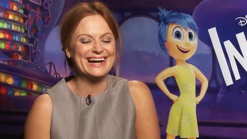 Amy Poehler es Alegría en Inside Out. (Foto: Youtube)