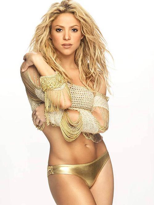 La cantante Shakira está entre los más pequeños del listado. (Foto: fmdos.cl)