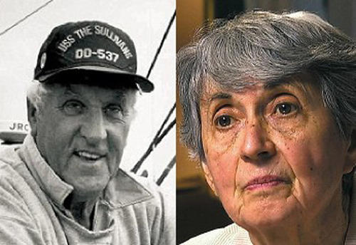 Fotografías actuales de George Mendonça y Greta Friedman. (Foto The Gaslamp Post)