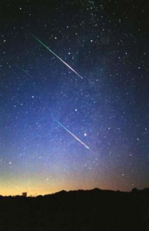 La lluvia de meteoros o de estrellas, tendrá su punto máximo el próximo sábado 10 de octubre. (Foto: Google)