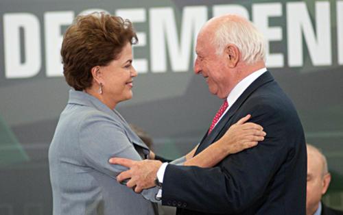 El patriarca de la siderúrgica, Jorge Gerdau, era uno de los asesores industriales más cercanos a Rousseff. (Foto: istoedinheiro.com.br)
