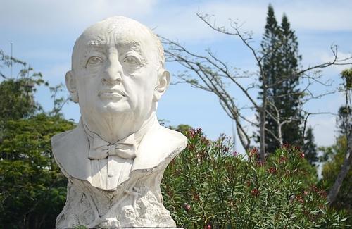 Miguel Ángel Asturias cumplió 115 de nacimiento en octubre de 2014. (Foto: Selene Mejía/Soy502)
