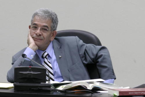 """El juez Miguel Ángel Gálvez tiene cuatro años de estar al frente del juzgado de Mayor Riesgo """"B"""". (Foto: Archivo/Soy502)"""