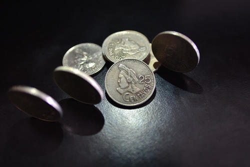 Esta es la moneda de 25 centavos que actualmente circula en el país. (Foto: Wilder López/Soy502)