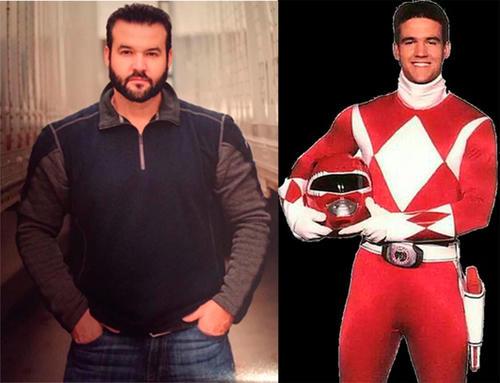 Austin St. John está más gordo que cuando encarnaba a Jason Lee Scott, el 'Power Ranger' rojo. (Foto: grazia.es)