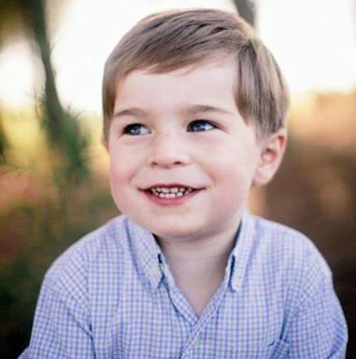 Charlie tenía cinco años y estaba de vacaciones con su familia cuando ocurrió la tragedia.