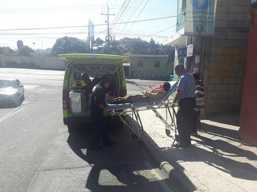 La madre junto a sus otros dos hijos se dirigía hacia la casa de un familiar. (Foto: Amílcar Montejo)