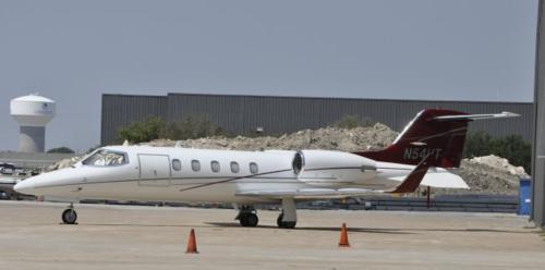 Este es el avión con matrícula N54HT. (Foto: Revista Factum)