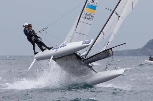 Así es la competencia de Nacra 17, la cual debutará en el programa olímpico en Río 2016.