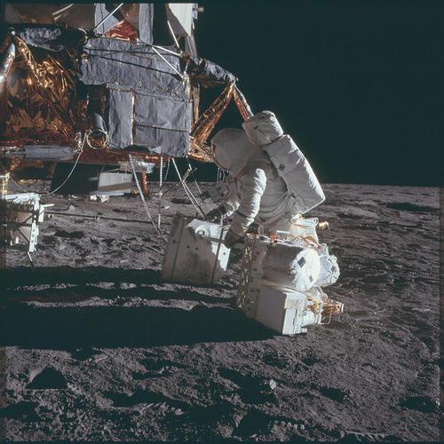 El módulo lunar. (Foto: Nasa)