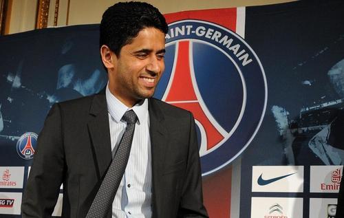 El qatarí dueño del París Saint Germain (PSG), Nasser al Khelaifi, está obsesionado con tener al crack del Real Madrid en su equipo. (Foto: futboldesdefrancia.com)