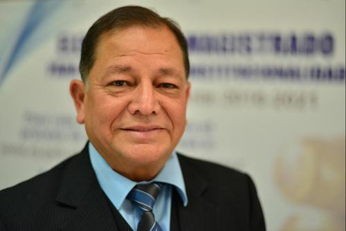 Neftaly Aldana, tras su entrevista para el proceso de la CSJ. (Foto: Archivo/Soy502)
