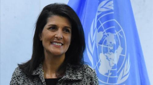 La embajadora es la voz de Trump en el exterior. (Foto: El Periódico Cataluña)
