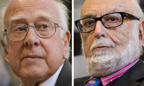 Peter Higgs y François Englert, fueron reconocidos con el Premio Nobel de Física por el descubrimiento del bosón de Higgs. (Foto: theguardian.com)