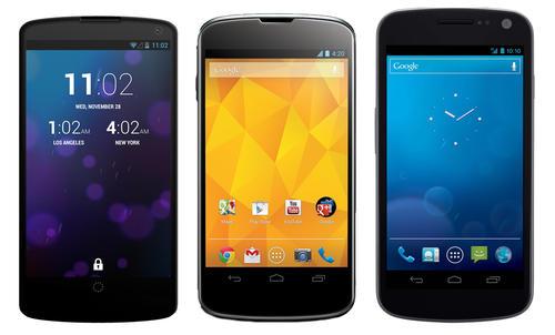 El teléfono de Google, el Nexus 5, obtuvo una calificación de 7 puntos, cuando 10 es menos protección física (Foto: Archivo)
