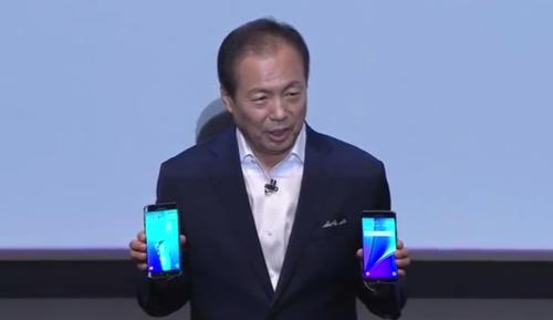 Jk Shin, presidente de la firma, aseguró tener un smartphone ideal para todos los gustos.  (Foto: CNN)