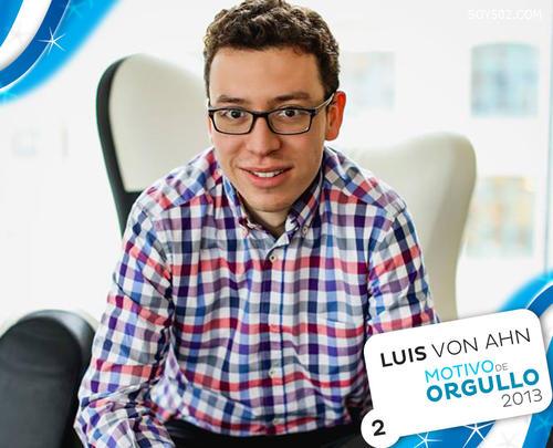 """Luis Von Ahn, incluído en la lista de los latinos más influyentes del 2013. Su aplicación """"Duolingo"""" es considerada por la empresa Apple como la aplicación del año."""
