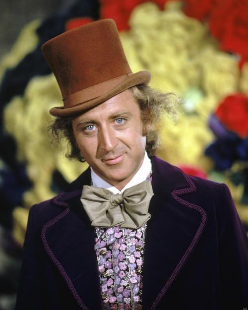 Gene Wilder  como Willy Wonka (Foto: huffpost.com)