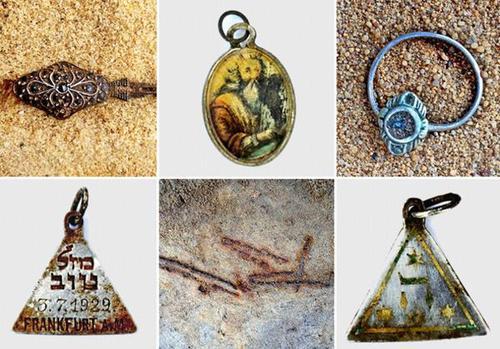 Parte de los objetos encontrados durante los trabajos de excavación iniciados en 2007. (Foto: CNN)