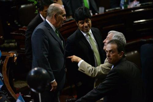 Mario Taracena podría ser el ungido de la UNE para presidir el Congreso. (Foto: Archivo/Soy502)