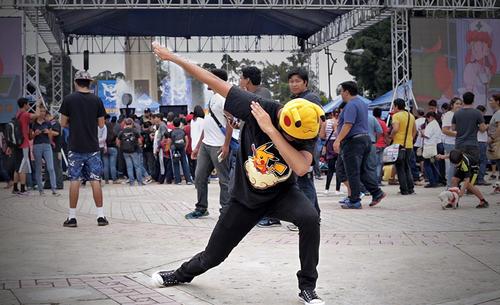 La fiebre del Pokémon Go estalló en Las Américas. (Foto: George Rojas/Soy502)