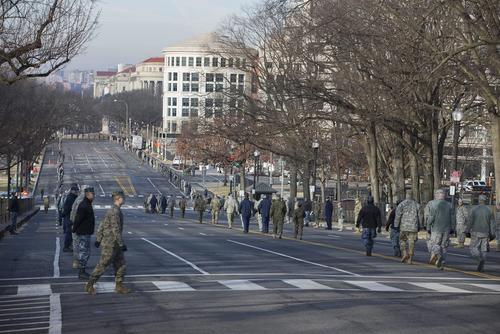 El 20 de enero habrá un fuerte dispositivo de seguridad por la toma de posesión de Donald Trump. (Foto: www.infobae.com)