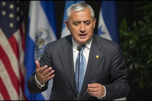En 2012, el entonces presidente Otto Pérez Molina impulsó la legalización de las drogas. (Foto: Archivo/Soy502)