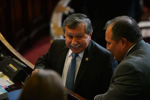 El diputado Edgar Ovalle prefiere no dar detalles de las reuniones con el binomio presidencial. (Foto: Archivo/Soy502)