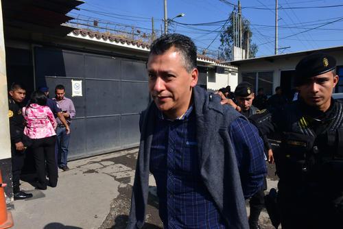 Pablo González exsecretario del Agua fue ligado por asociación ilícita, fraude y cohecho pasivo.