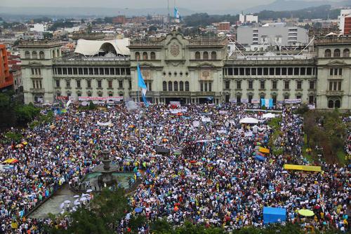 La lucha contra la corrupción ha sumado puntos que compensan con otras necesidades. (Foto: Archivo/Soy502)